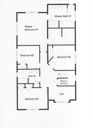 5 Bedroom Floor Plans Monmouth County Ocean County New Jersey Rba Homes