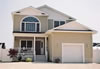 Open custom modular floor plan, 5 bedroom 3 1/2 bath modular home, Jersey Shore, NJ.