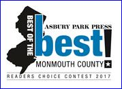 Asbury Park Press - 2017 Readers Choice Award