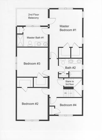 ... 2 Story Narrow Lot Floor Plans On Architect Designed Home Plans ...