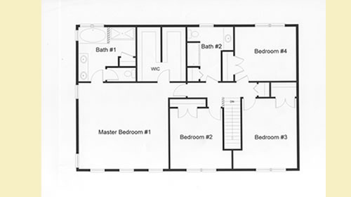 Hugh Master Bedroom And Double Walk In Closet In The Second Floor Plan.  Access