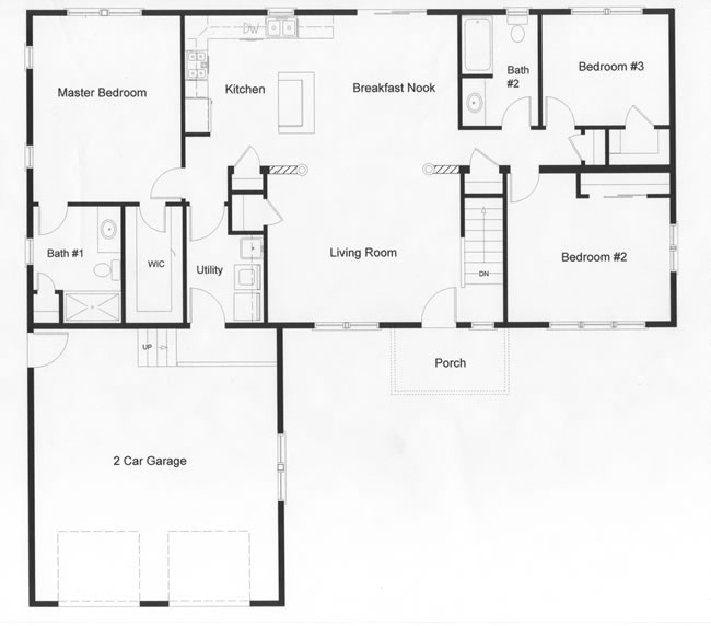 3 Bedroom Floor Plans Monmouth County