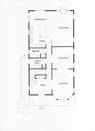 2 Story Narrow Lot Floor Plans,Monmouth County,Ocean County ... on
