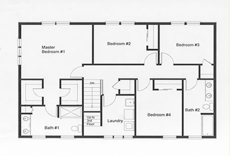4 Bedroom Floor Plans Monmouth County Ocean County New