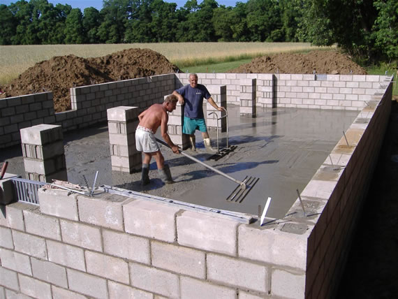 Modular home foundations modular home for What is the best foundation for a house