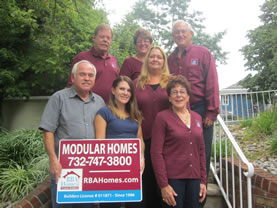 RBA Homes staff, modular home builders for central New Jersey