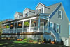 Located in the Jersey Shore community of The Highlands the home overlooks Sandy Hook, NJ.
